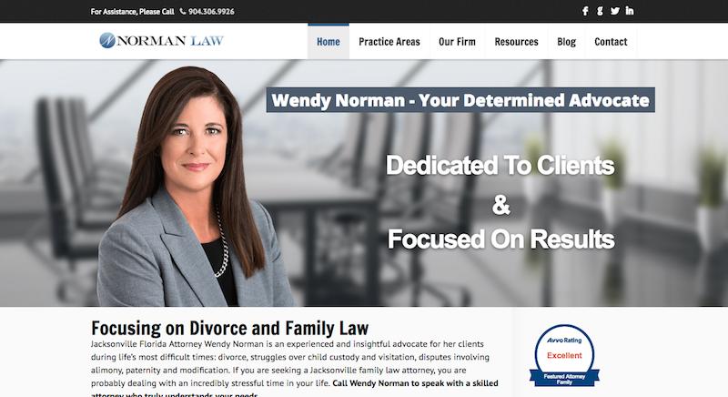 Divorce Attorney Wendy Norman