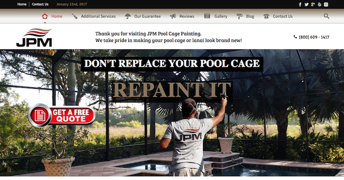 Pool Cage Painters